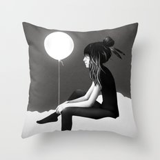 No Such Thing As Nothing (By Night) Throw Pillow