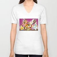 mlp V-neck T-shirts featuring MLP X-Women by Kimball Gray
