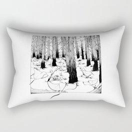 The Meeting Rectangular Pillow