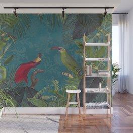 Birds Of Jungle Wall Mural