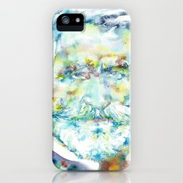 GIUSEPPE VERDI - watercolor portrait iPhone Case
