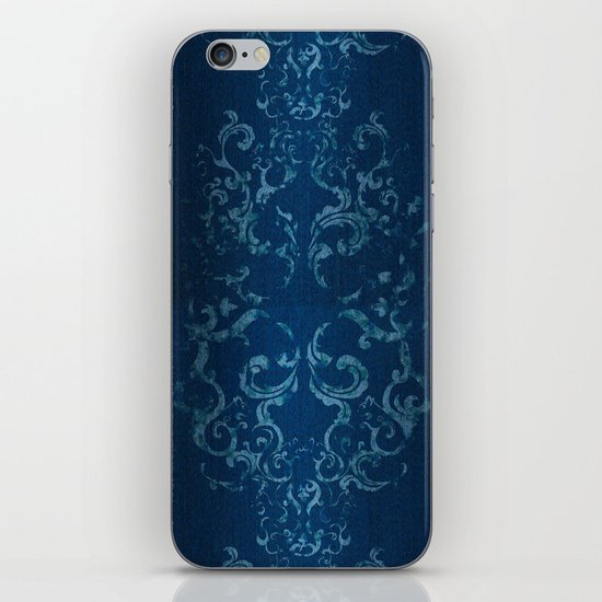 Squirrely Chambray iPhone & iPod Skin
