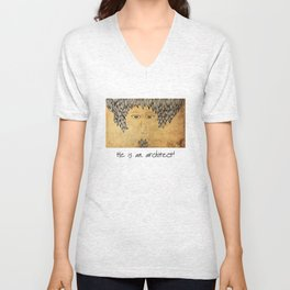He Is An Architect! Unisex V-Neck