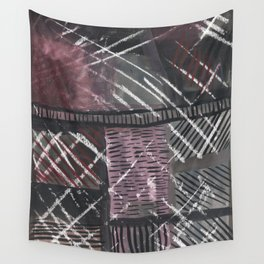 Grid lines Wall Tapestry