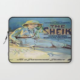 Vintage poster - The Sheik Laptop Sleeve