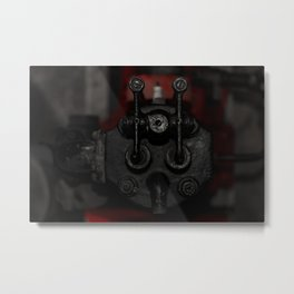 Engine Face One Metal Print
