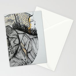 Mujer del Mar . Sea Woman. #1 Stationery Cards