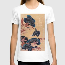 japanese flowers T-shirt