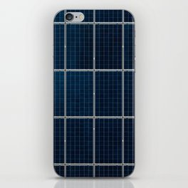 Solar Panel Pattern (Color) iPhone Skin