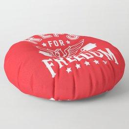 Reps For Freedom v2 Floor Pillow