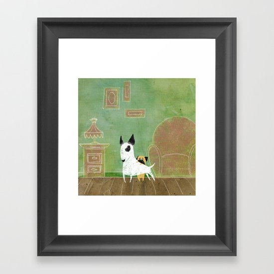 Let me see Framed Art Print