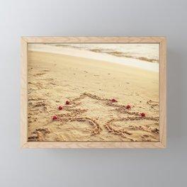 Merry Christmas! - Christmas at the beach Framed Mini Art Print