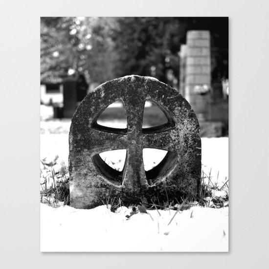 Winter cross Canvas Print