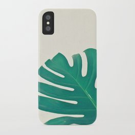 Monstera II iPhone Case