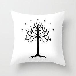 Tree(Gondor) Throw Pillow