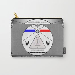 New World Order TV Test Pattern. Carry-All Pouch