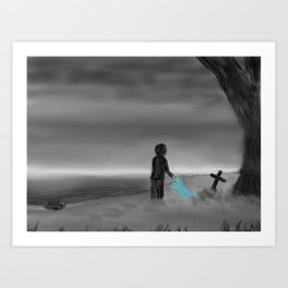Goodbye Old Friend... Art Print