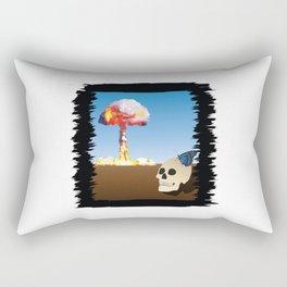 Fukushima Butterfly Rectangular Pillow