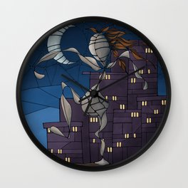 Steppin' Out Wall Clock