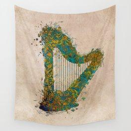 Harp Wall Tapestry