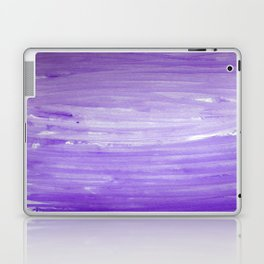 Purple Ombre Stripes Laptop & iPad Skin