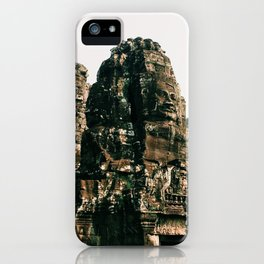 TRANSCENDENCE // The Bayon, Siem Reap, Cambodia iPhone Case