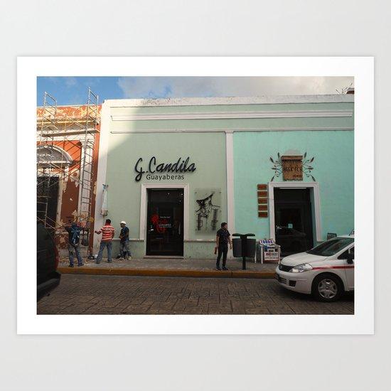 Guayaberas Merida Art Print