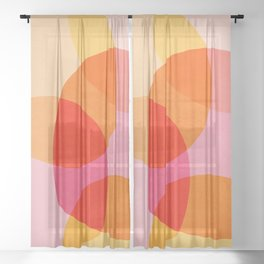 Summer Vibe Sheer Curtain