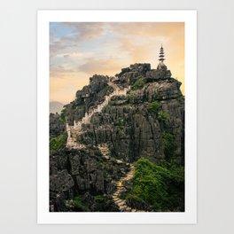 Vietnam Stunning View Fine Art Print  • Travel Photography • Wall Art Art Print