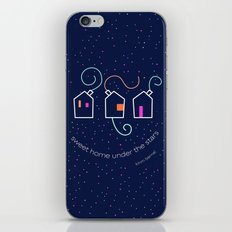 Sweet home under the stars iPhone & iPod Skin