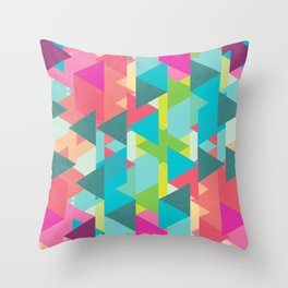 Rewind and Forward Throw Pillow