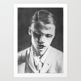 Gender advertise Art Print