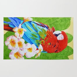 Macaw Garden Rug