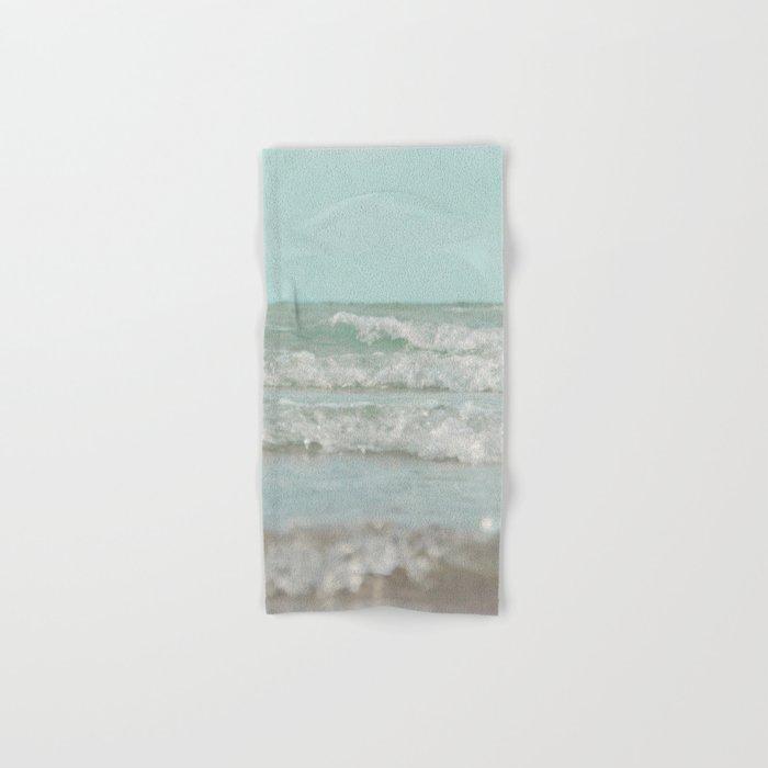 Mint Ocean Hand & Bath Towel