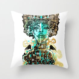 SISTA ANGEL Throw Pillow