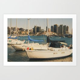 Afternoon in San Diego Art Print