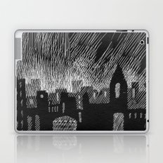black city Laptop & iPad Skin