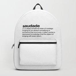saudade Backpack