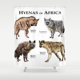 Hyenas of Africa Shower Curtain