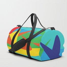 Abstract Story II Duffle Bag