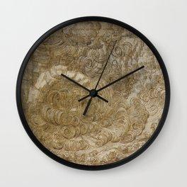 Drama by Leonardo Da Vinci Wall Clock