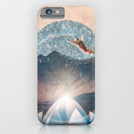 Taking the leap iPhone Case