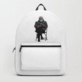 Bernie Sanders Sitting Meme  Backpack