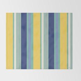 Sunny Beach Print Throw Blanket