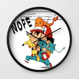 Choose One Wall Clock