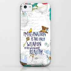 Alice in Wonderland - Imagination iPhone 5c Slim Case