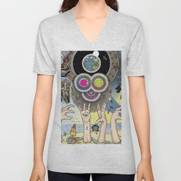 art colour color new hot 2018 style artist colourful coloring colourng collection support rb vintage Unisex V-Neck