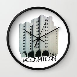 Tacoma Born - St. Josephs Hospital  Wall Clock