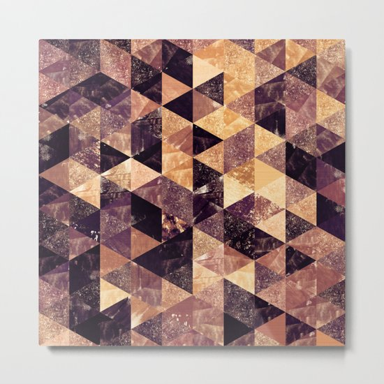 Abstract Geometric Background #3 Metal Print