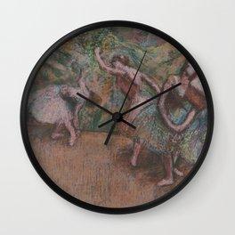 Edgar Degas - Ballet Scene Wall Clock